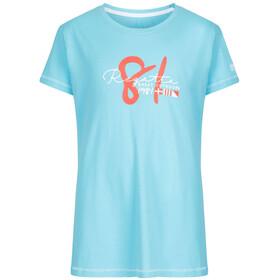 Regatta Bosley T-Shirt Kids Horizon/White Stripe